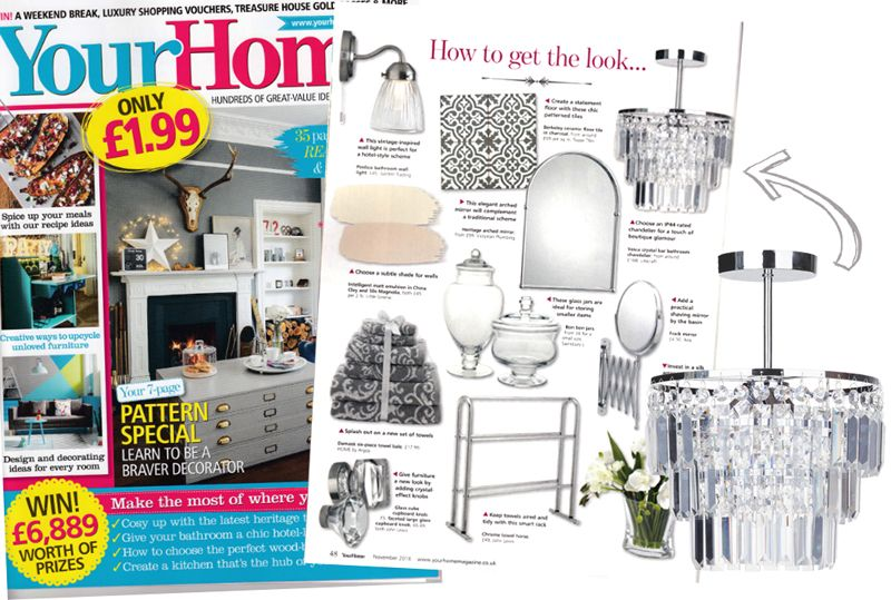 Vasca Bathroom Chandelier Your Home Magazine