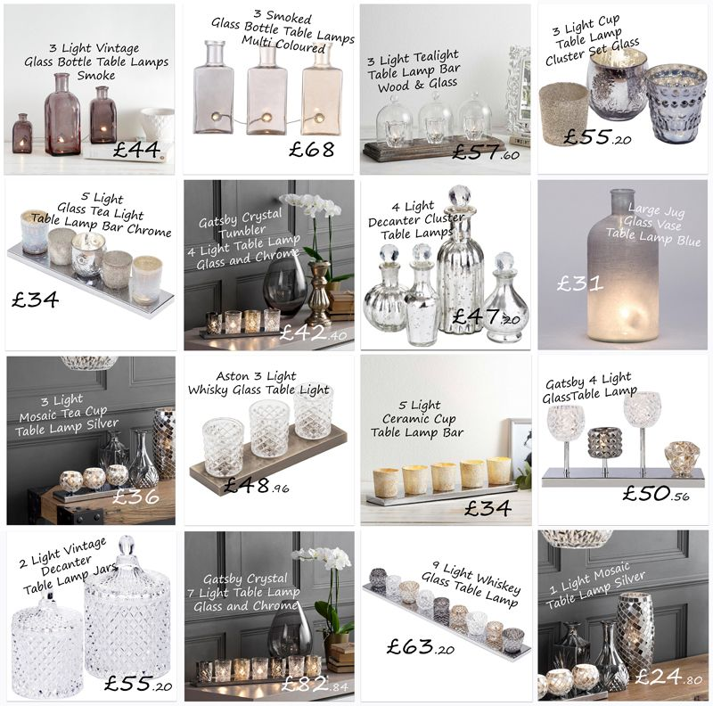 cluster table lamps gift guide