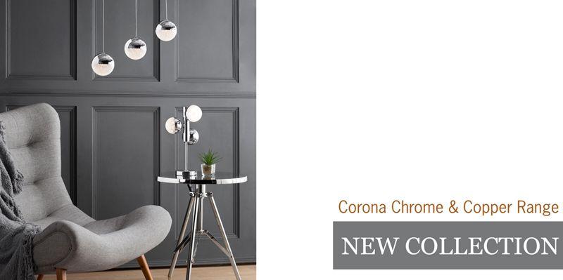 New Collection Corona Lighting Range