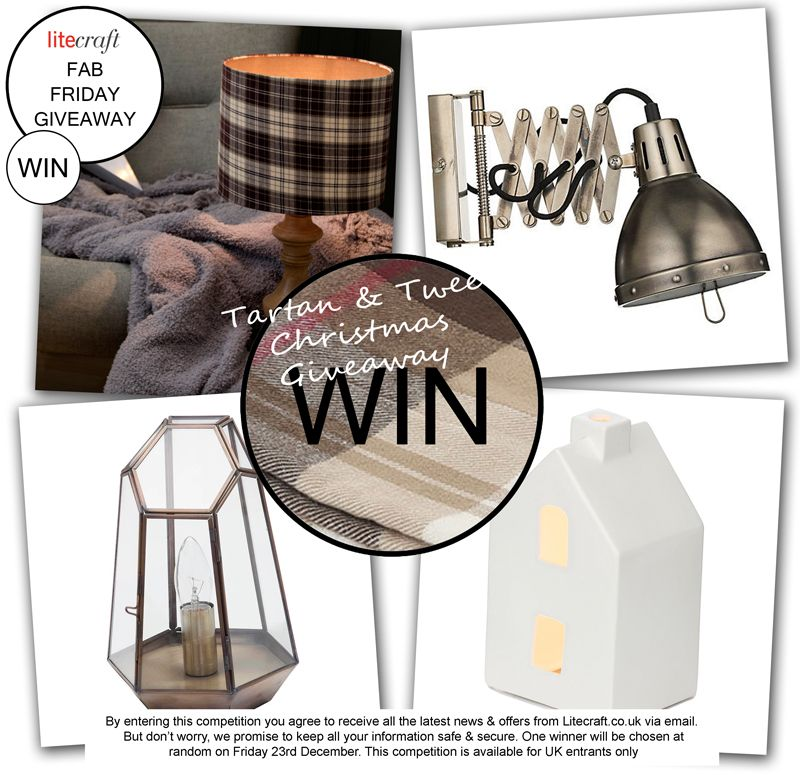 tartan and twee Christmas competition