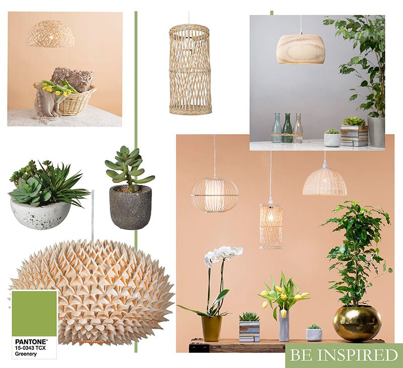 Top Lighting Trends for Upcoming 2017 - Nature inspired Trend