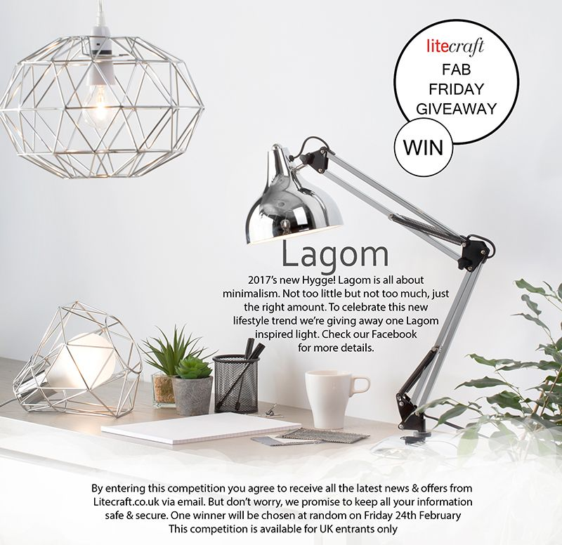 Lagom Inspired Lighting Giveaway