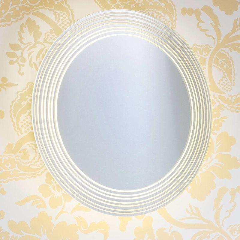 Epsilon Mirrored Bathroom Wall Light bathroom lighting