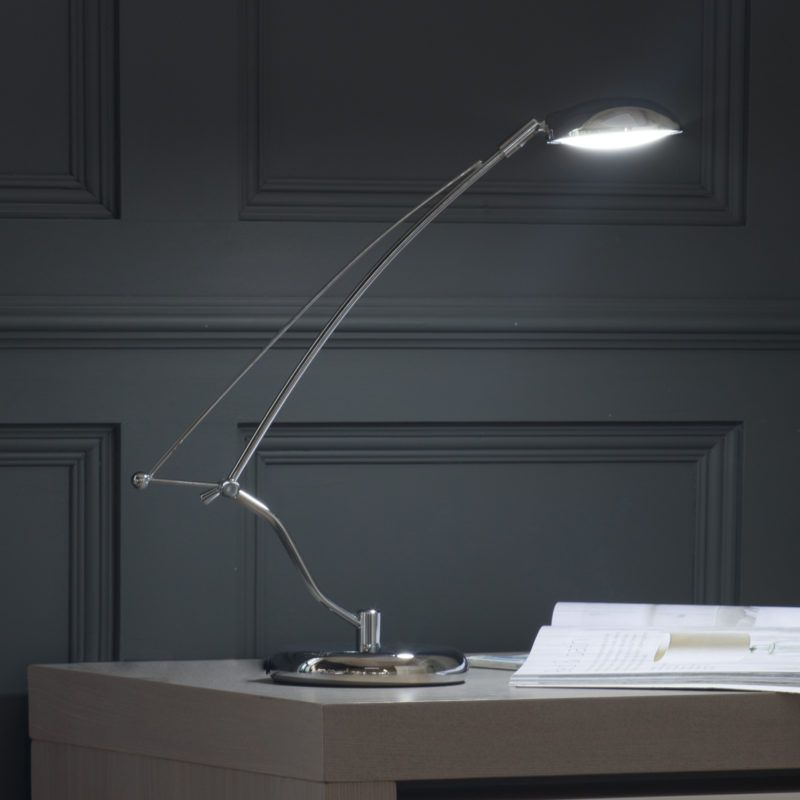 Desk Lamp in Chrome