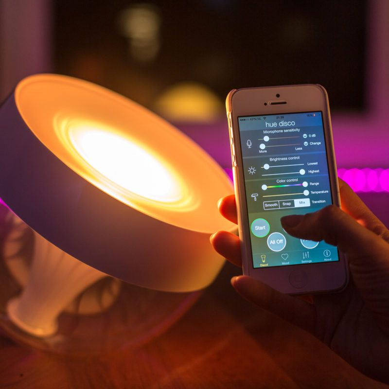 Philips Colour Changing Lamp