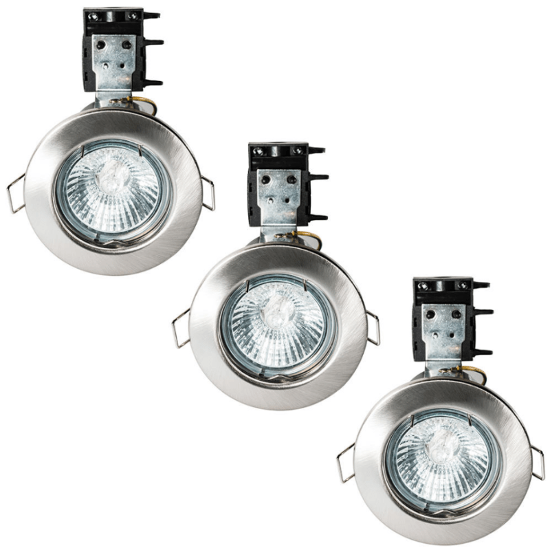 Three Fire-rated Downlights