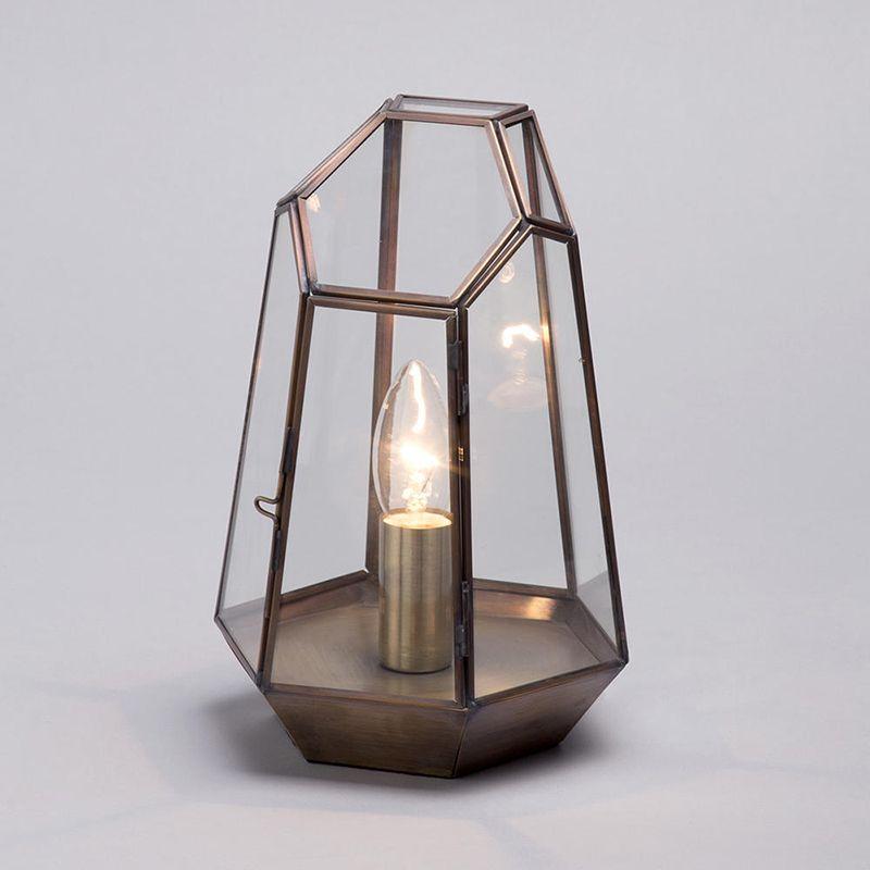 Home Style Magazine May Issue 2017 - Terrarium Table Lamp - Litecraft