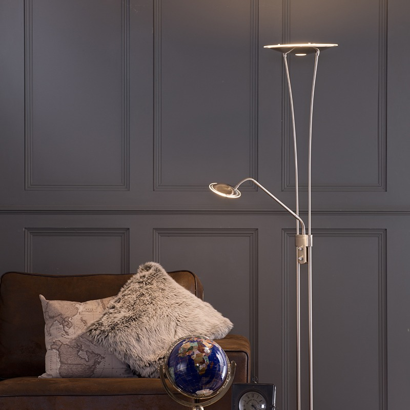 Floor lamps in task lighting