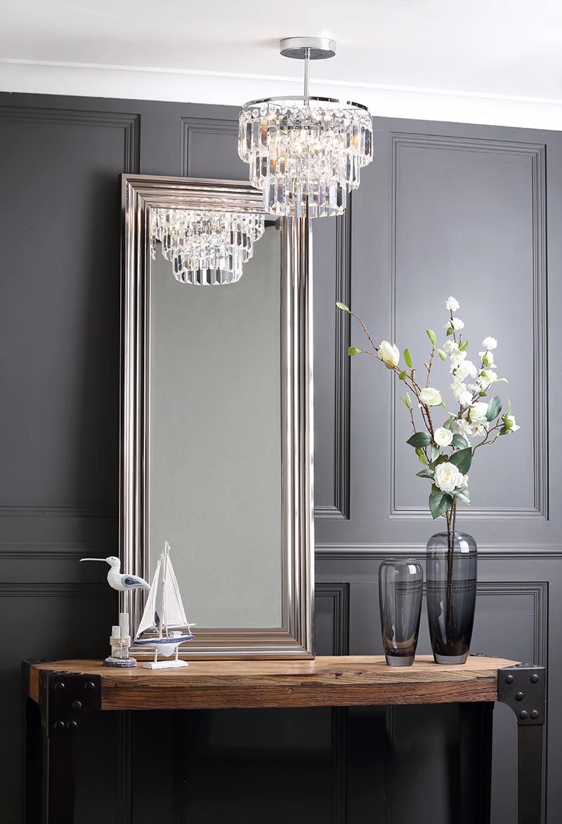 Use of mirrors for lighting and style | Litecraft
