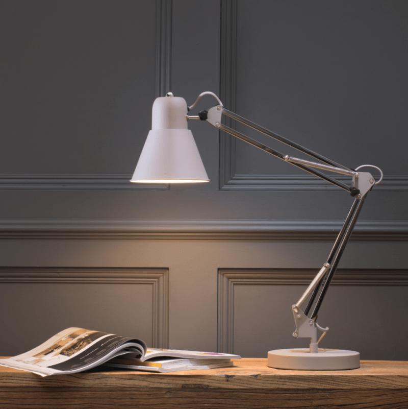 Desk Lamp in Mocha