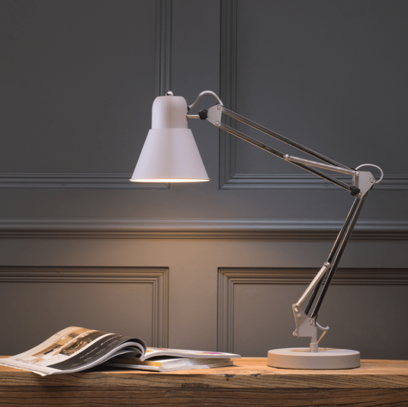 Desk Lamp in Grey