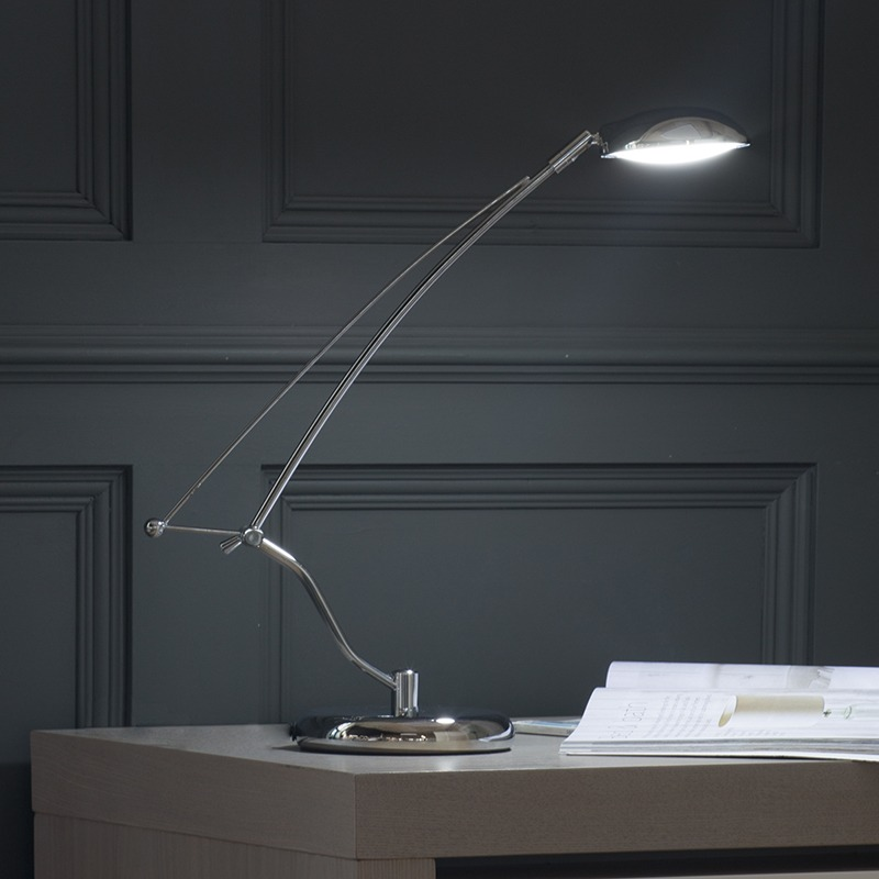 Cool White Desk Lamp