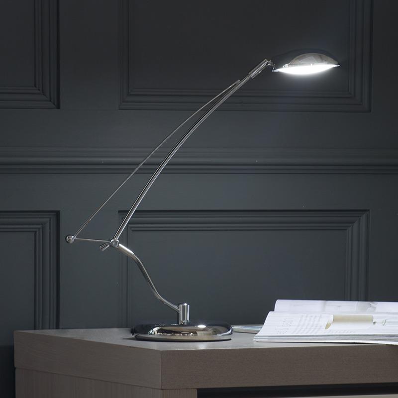 Cool White Desk Lamp