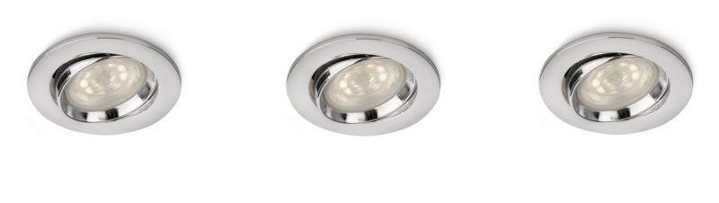 Adjustable head Recessed Spotlights