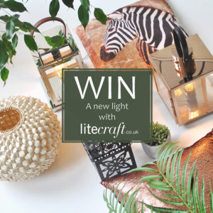WIN! A light from our Out of Africa limited edition lighting range
