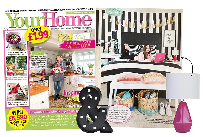 Litecraft Ampersand Table Lamp - Your Home Magazine