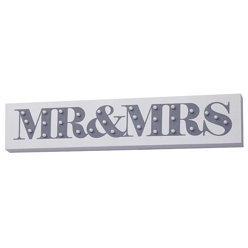 mr and mrs lightbox - Some fun ways to illuminate your wedding - Litecraft