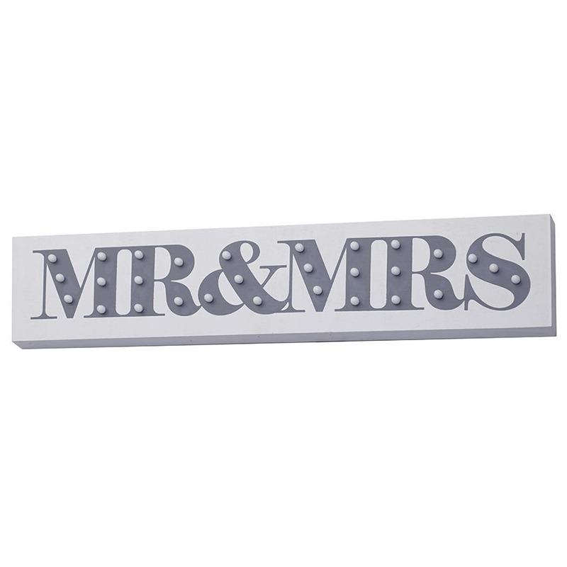 mr and mrs lightbox - Some fun ways to illuminate your wedding - Litecraft