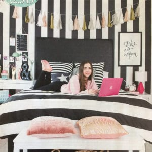 Your Home Magazine - Creating a teenagers chill zone with our Ampersand Table Lamp