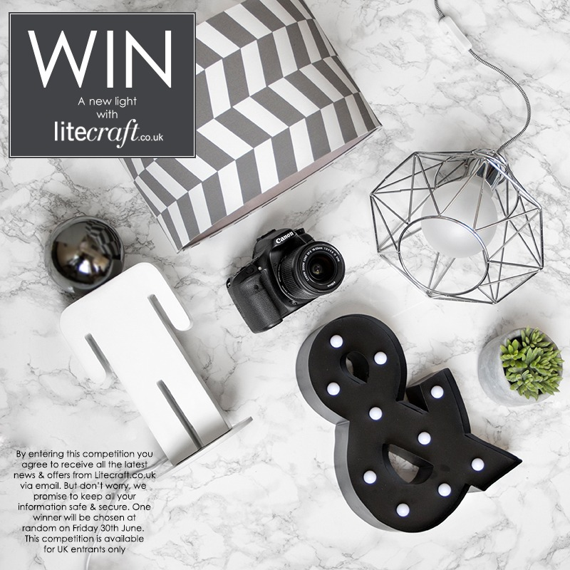 Win a Monochrome Mancave inspired lamp