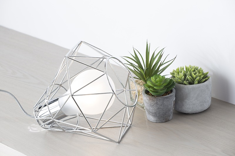 Win a Monochrome Mancave inspired lamp from Litecraft