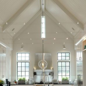 How to illuminate vaulted ceilings with some key lighting