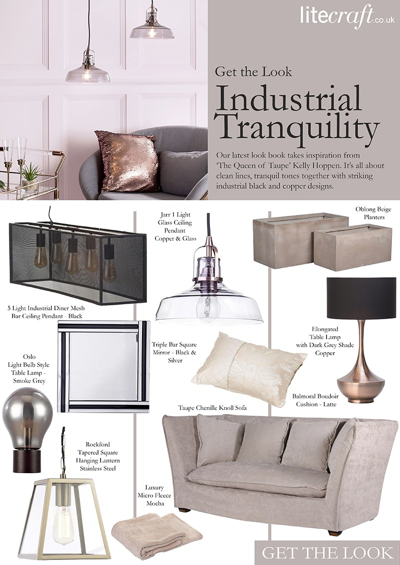 Kelly Hoppen Industrial Tranquility - Litecraft