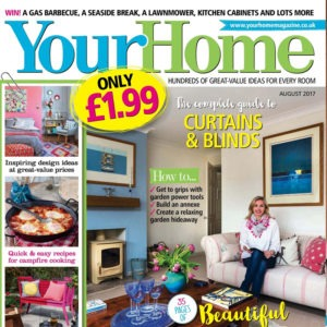 Our Hello Lightbox lights up a garden room makeover in Your Home Magazine