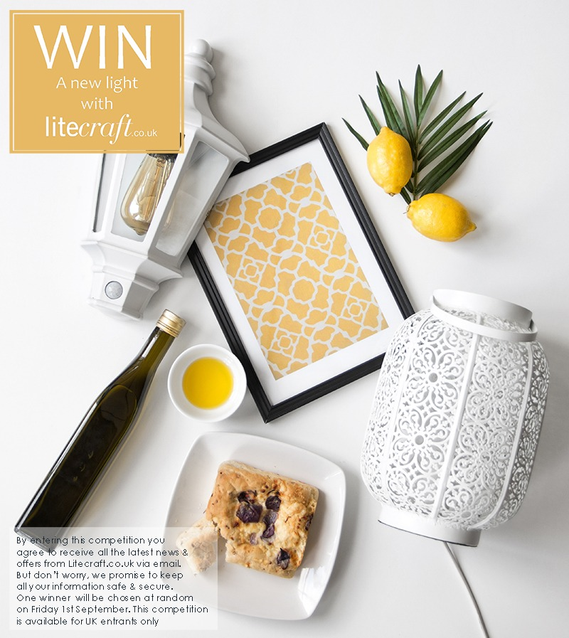 Win a new light with Litecraft's Amalfi Coast inspired Competition