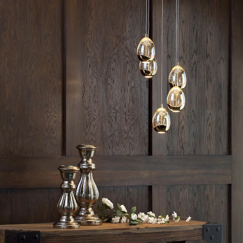 LED light bulb Cluster Pendant