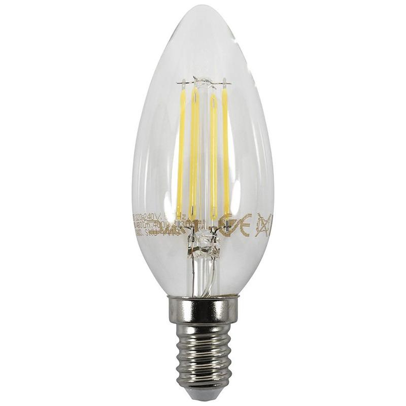 LED light bulb Candle SES