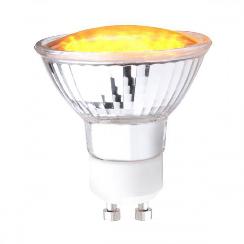 Yellow LED light bulb Litecraft