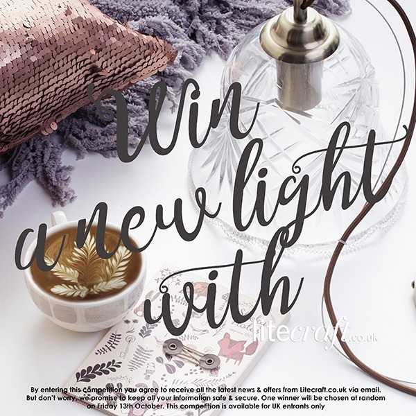 Win a new light with Litecraft's latest Autumn Inspired Competition