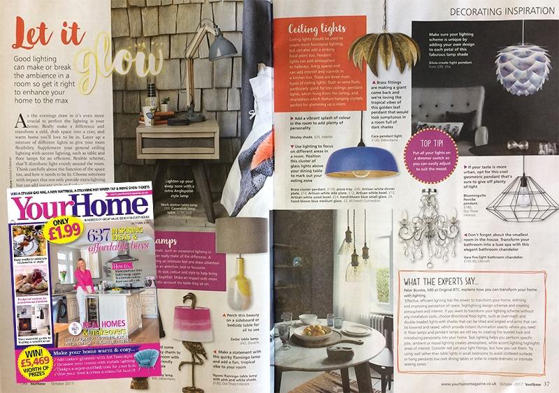 Your Home Magazine Vara 5 Light Chandelier
