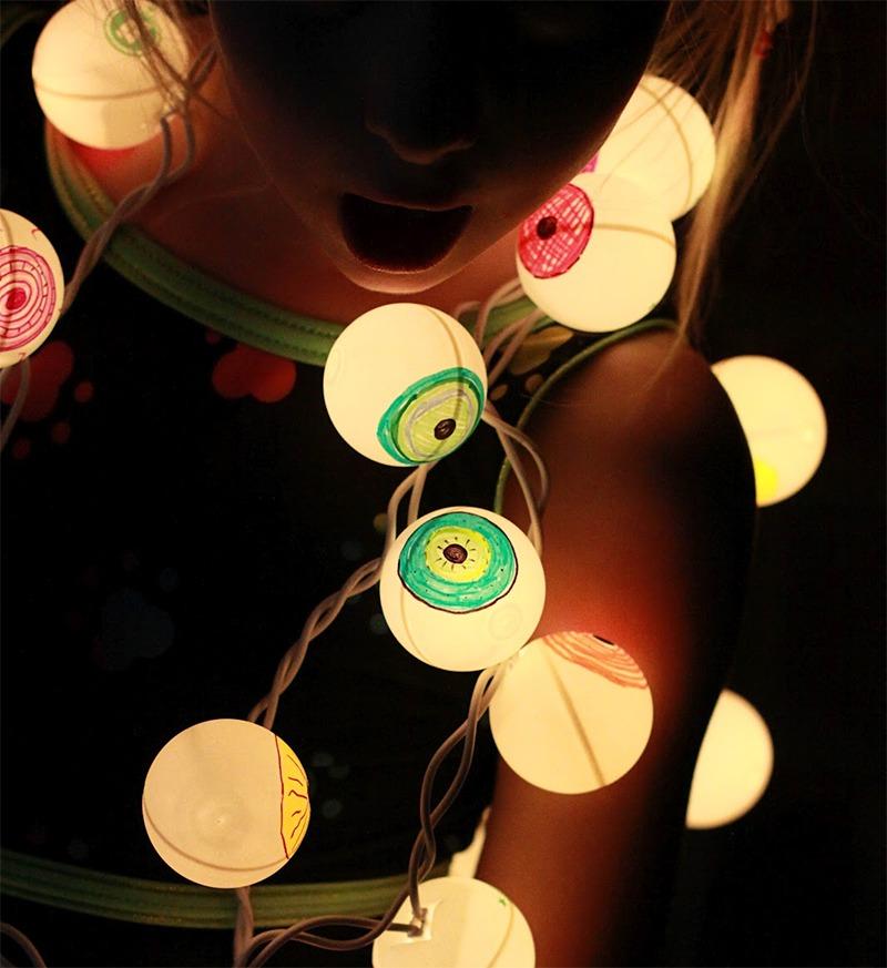Halloween Lighting Ideas - taken from Pinterest