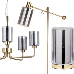 Our glamorous new Mid Century Inspired Lighting Collection