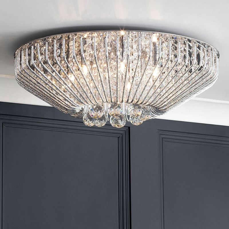 New crystal lighting collection