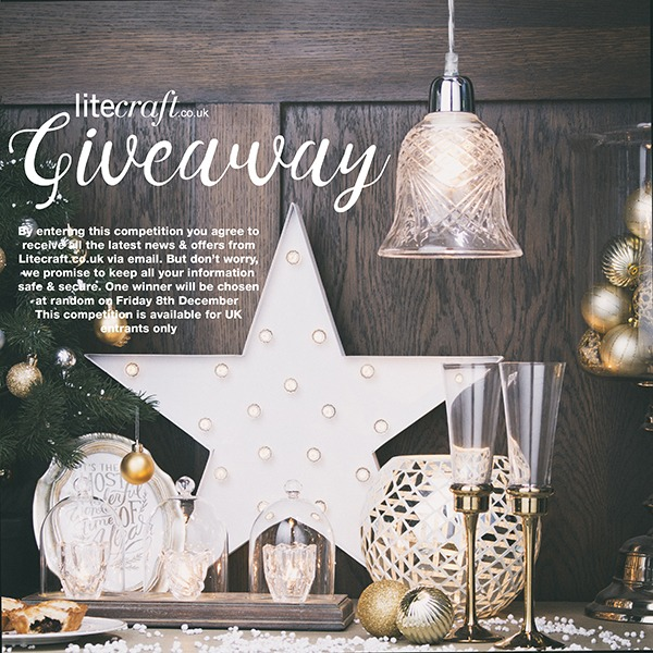 Litecraft Sparkling Christmas Competition Giveaway