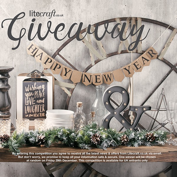 Litecraft celebrate the New Year with an industrial inspired competition