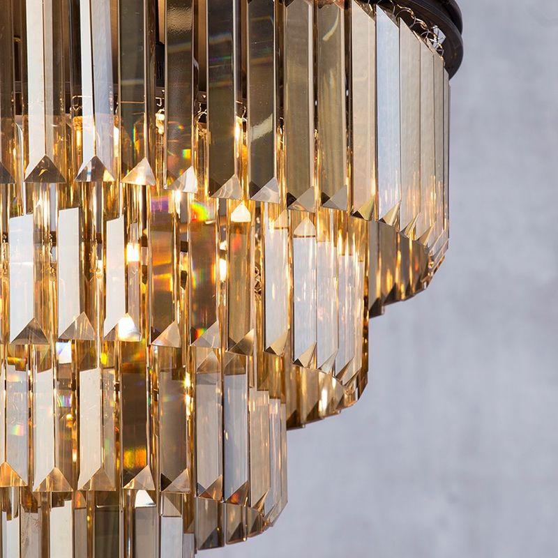 New Ingot Flush Ceiling Light -Rust