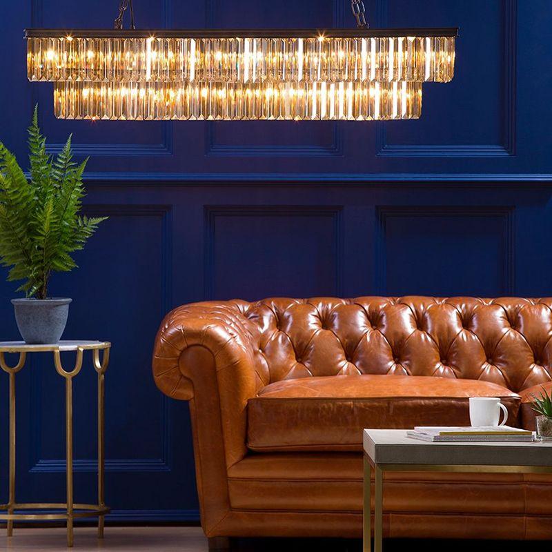 New Ingot Rectangular Bar Pendant Ceiling Light