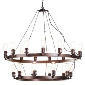 New Heritage Carter Cartwheel Lighting Collection