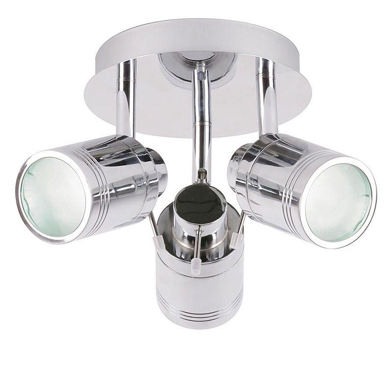 Hugo 3 Light Bathroom Spotlight - Chrome