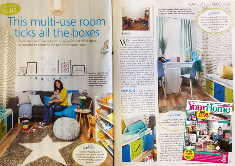 Your Home Magazine - Litecraft's Skittle Easy Fit gives light to a bold playroom