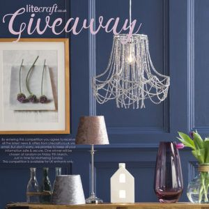 Win a Mothering Sunday Inspired Light from Litecraft