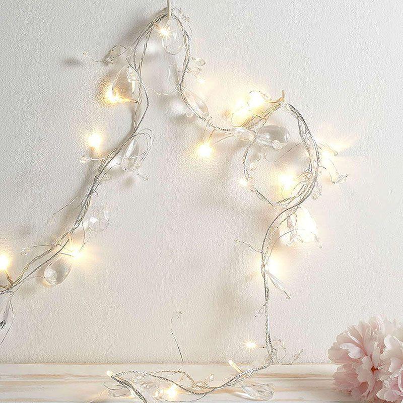 String lights in Litecraft