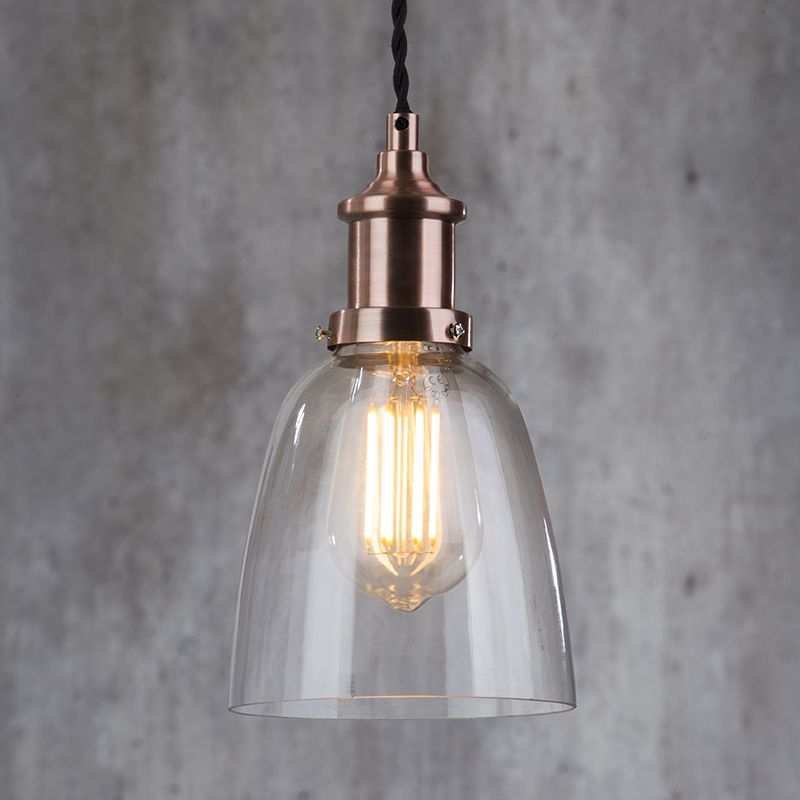 New Industrial Diner Style Collection - 1 Light Pendant