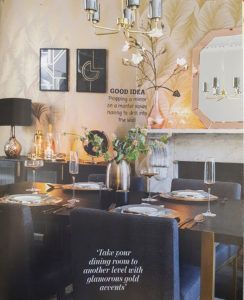 Our Mid Century Ceiling Light in Home Style Magazine April 2018