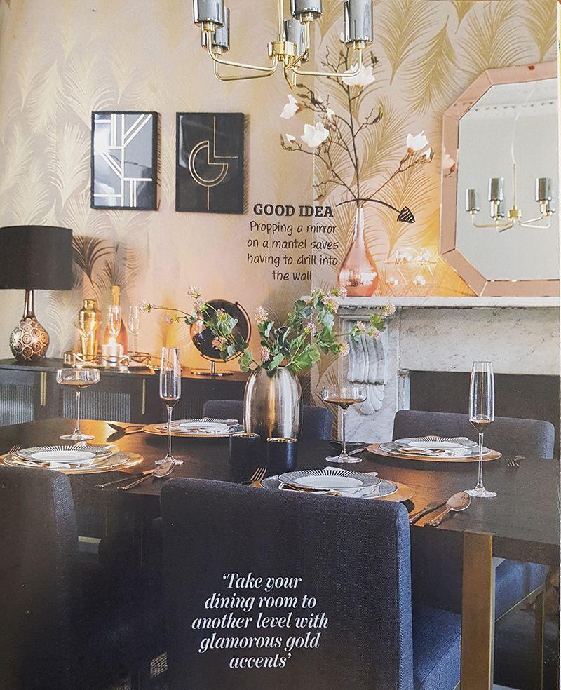 Home Style Magazine - Mid Century Ceiling Light