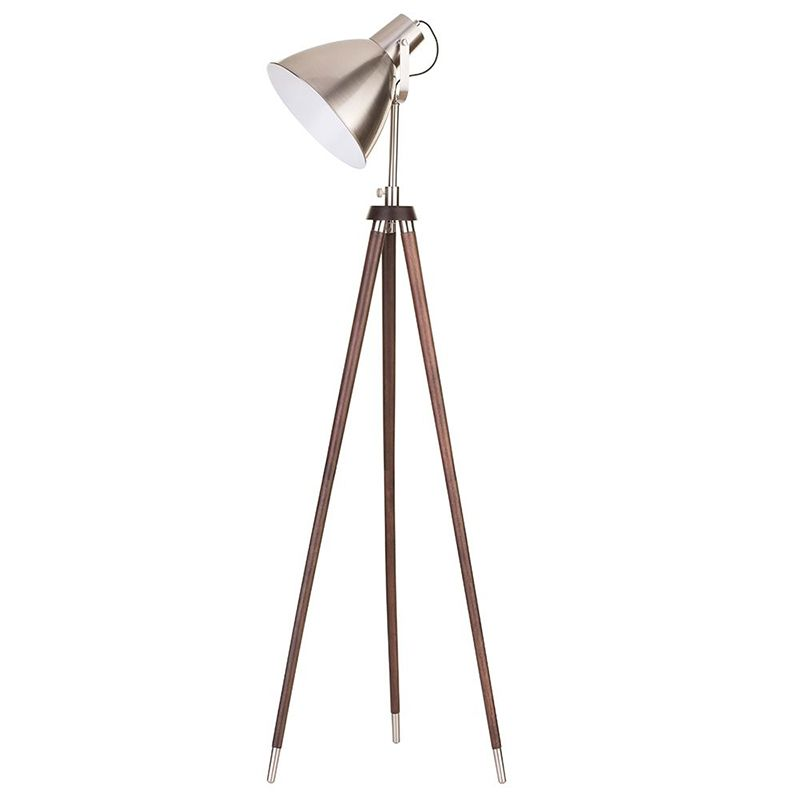 Litecraft's Vintage Tripod Floor Lamp in Home Style Magazine's June Issue